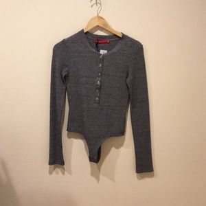 n:PHILANTHROPY Henley Bodysuit